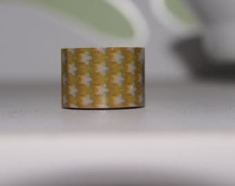2 M x 1.2 CM WASHI MASKING TAPE Ribbon stars sticker