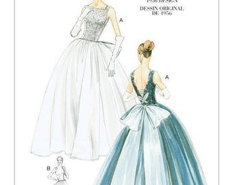 By Vogue V8729 retro vintage sewing pattern
