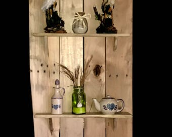Pallet wood shelf #5