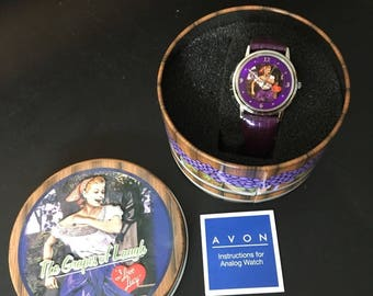 Avon Collectible I Love Lucy Grapes of Laugh Watch