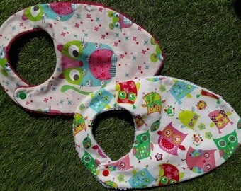 1 set of bibs for baby 3-6 months