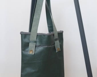 COUCH TO BAG re-used leather shoulder bag