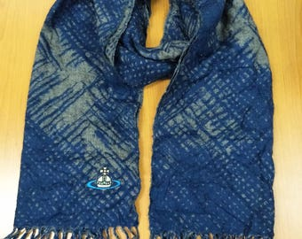 Authentic scarves genuine maffla Vivienne Westwood