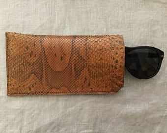 Python glasses case
