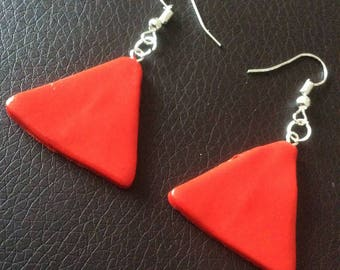 Earrings triangle for various occasions!