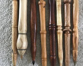 Handmade wood turned pens