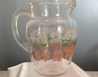 Vintage Libbey pitcher