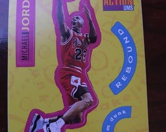 Michael Jordan Upper Deck Collector's Choice Sticker Card