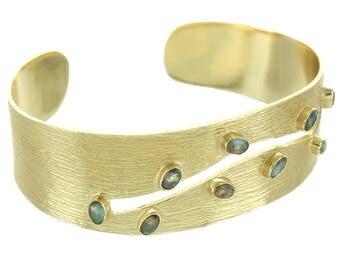 Labradorite Scar Bracelet