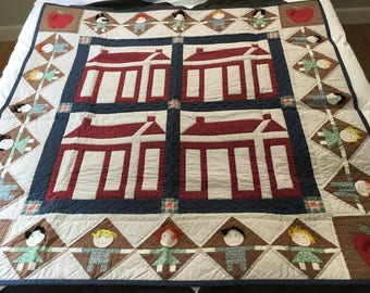 Wall hanging or bed quilt