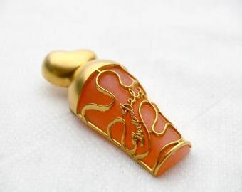 Vintage NINA RICCI parfum brooch