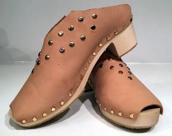 Handmade Clogs - Women's Size 6