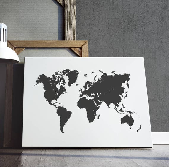 World map print world map poster travel poster wanderlust world map print world map poster travel poster wanderlust print map art decor playroom art nursery decor digital download gumiabroncs Image collections