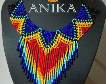 Gorgeous embera necklace
