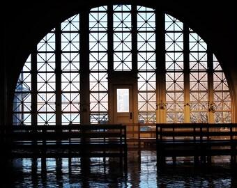 Ellis Island Reflection