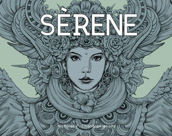 Serene - Coloring Book by Nicholas Filbert Chandrawienata