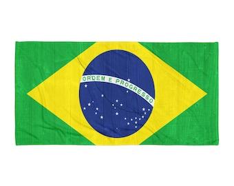 Brazil design Towel