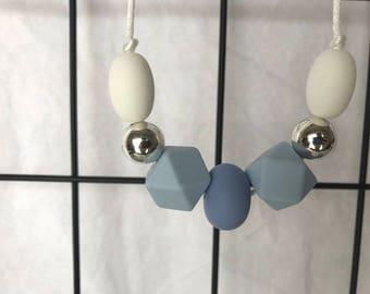 Silicone Necklace - Simple Hexagon Elegance