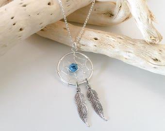Necklace dream catcher Silver 925
