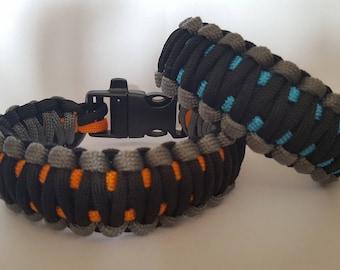 King Cobra Paracord Survival Bracelet
