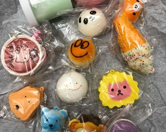 Squishy And Slime Mystery Box : Squishies Etsy