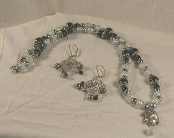 Black Beads Set
