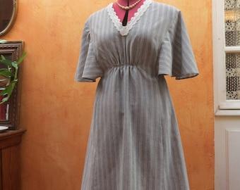 Vintage of seventies dress cut