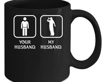 Beatboxing Your husband My husband Gift, Christmas, Birthday Present for the best Husband Black Mug