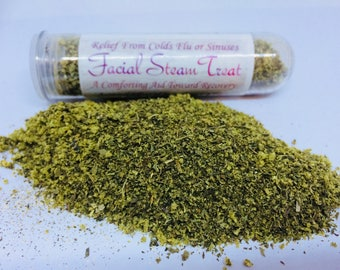 Facial Steam Treat Cold & Flu Relief