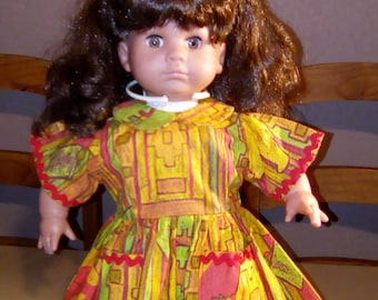 Garment 36 to 40 cm soft body doll dress handmade