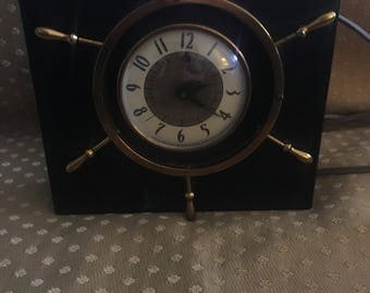 Vintage Telechron Nautical Electric Clock