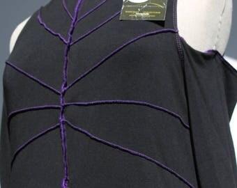 """Sub-pull """"Estrella"""", viscose Jersey - two-tone - size: XL"""
