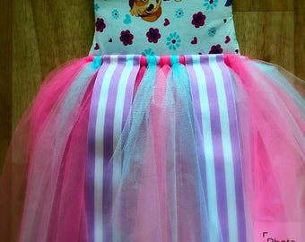 Paw patrol tutu bow holder