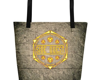 d20 Side Quest Beach Bag of Holding