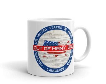 Out Of Many, One Coffee Mug