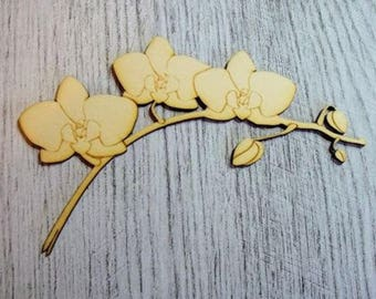 flowers 1158 embellishment wooden creations