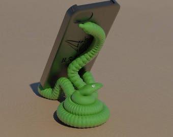 "Universal smartphone stand ""rattlesnake"""