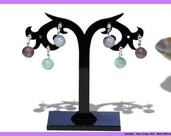 """Earrings """"bubbles"""" - Amethyst"""
