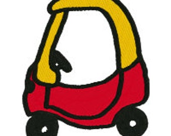 Classic Childs Car Embroidery