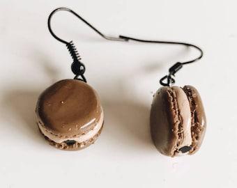 Kawaii Macaron Earrings / Small Food Earrings