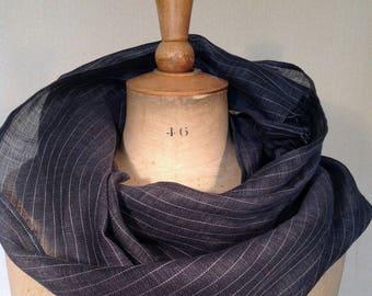 Cheich, écharpe, étole, foulard en lin super léger