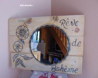 """mirror home decor """"Bohemian dream"""""""