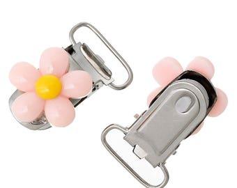 1 clip pacifier resin flower 37 * 23mm