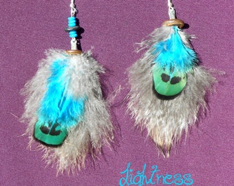 "Earrings feathers ""Extremly"" soft"