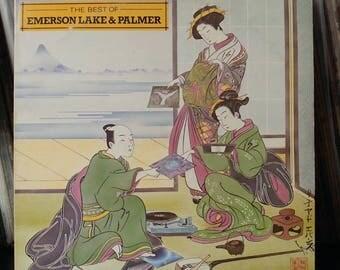 Vintage Vinyl Album-Emerson Lake & Palmer-The Best Of-Atlantic Recording-1980