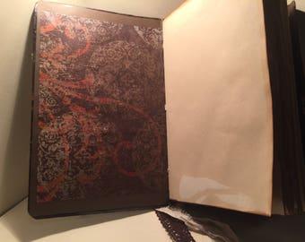 Leather like journal