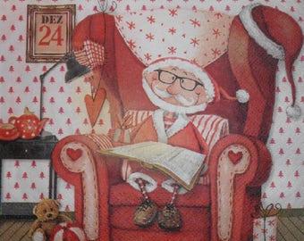 048 Santa Claus napkin