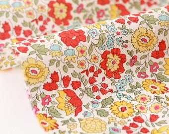 10% fabric Liberty of London-80x135cm Anjo B-yellow