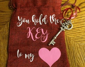Key to my heart bag
