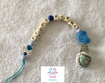 "Pacifier ""little man"""